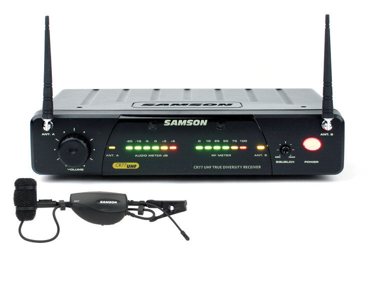 Samson AirLine 77 Wind Instrument Wireless System - Channel N4 image 1
