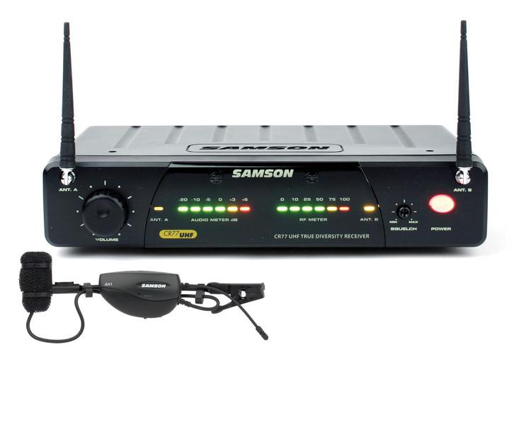 Samson AirLine 77 Wind Instrument Wireless System - Channel N6 image 1