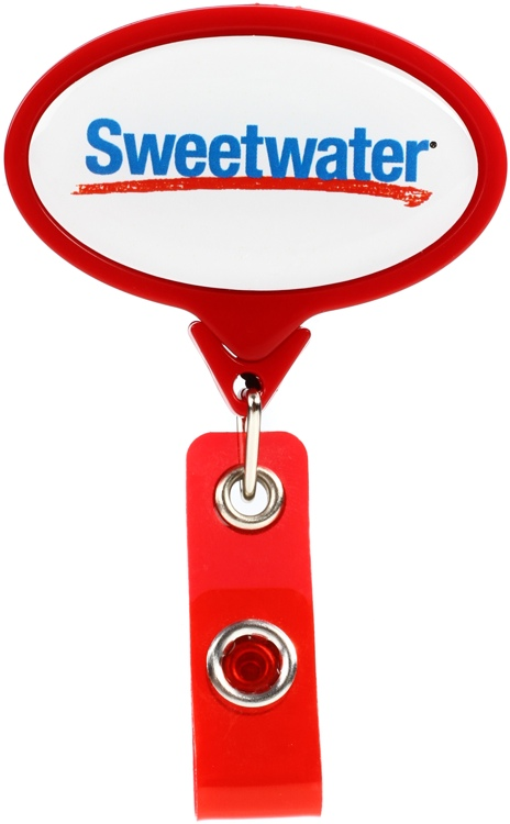 Sweetwater Badge Clip - Red image 1