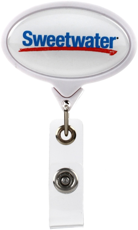 Sweetwater Badge Clip - White image 1