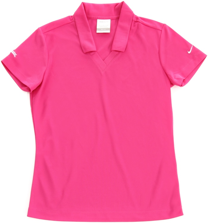 Sweetwater Women\'s Nike Polo - Fusion Pink, Small image 1