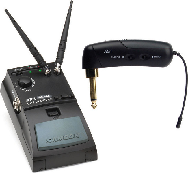 Samson AirLine Guitar System (Gibson Style) - Channel N2 (642.875 MHz) image 1
