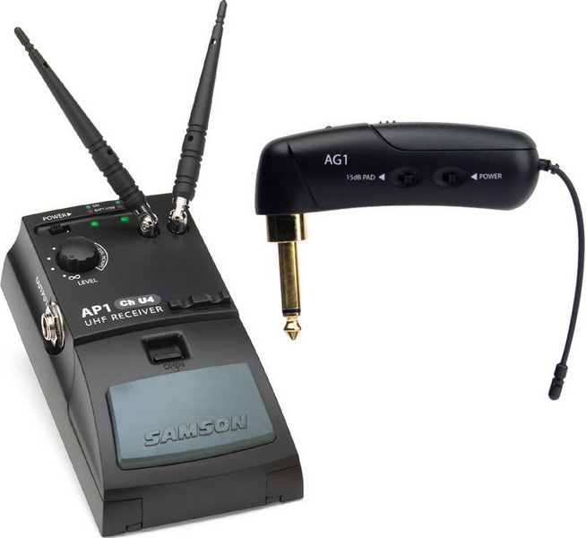 Samson AirLine Guitar System (Gibson Style) - Channel N6 (645.750 MHz) image 1