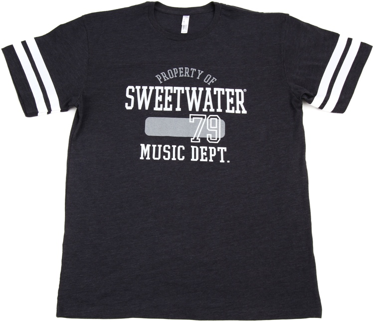 Sweetwater Vintage Navy/White Football Jersey T-shirt - Men\'s Small image 1