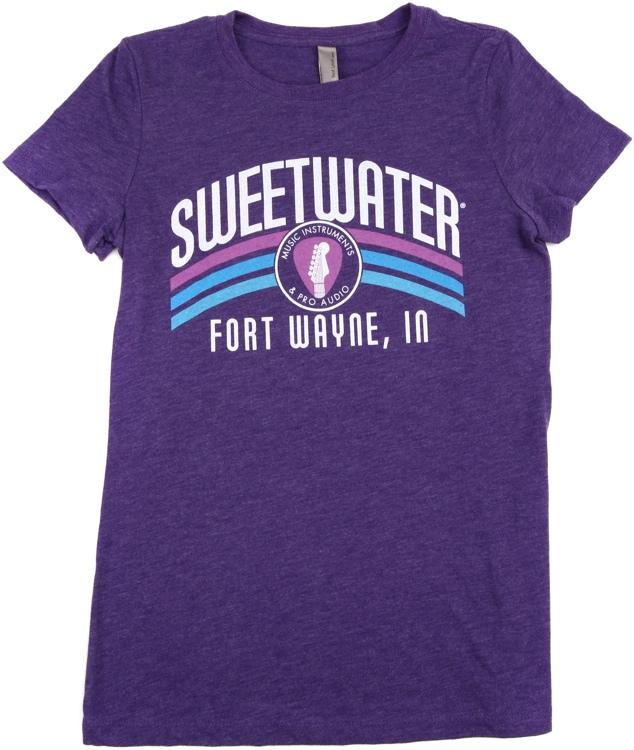 Sweetwater Purple Rainbow T-shirt - Ladies\' Large image 1