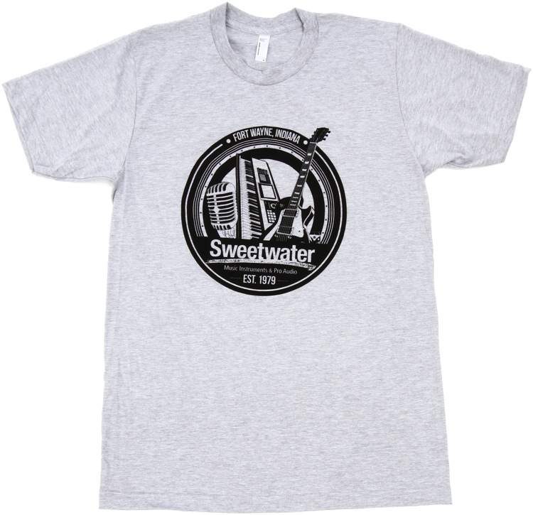 Sweetwater Trinity Badge T-shirt - Heather Gray, Small image 1