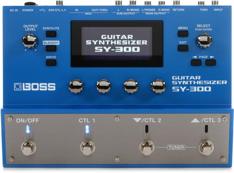 Guitar Synth Pedal >> Boss Sy 300 Advanced Guitar Synth Pedal Sweetwater