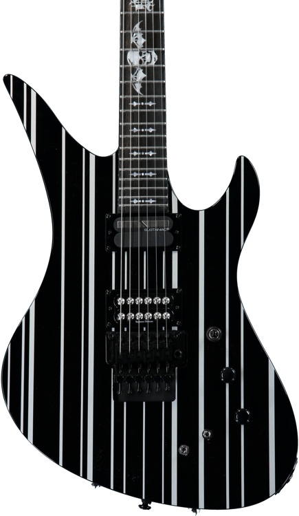 Schecter Synyster Gates Custom-S - Black/Silver image 1
