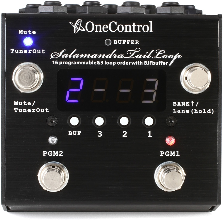 One Control Salamandra Tail Loop Effects Switching System image 1