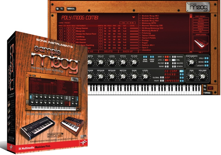 IK Multimedia SampleMoog Virtual Instrument image 1