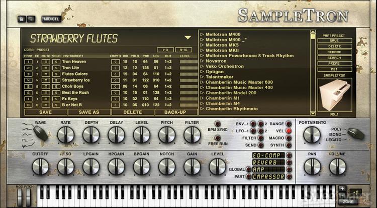IK Multimedia SampleTron Virtual Instrument image 1