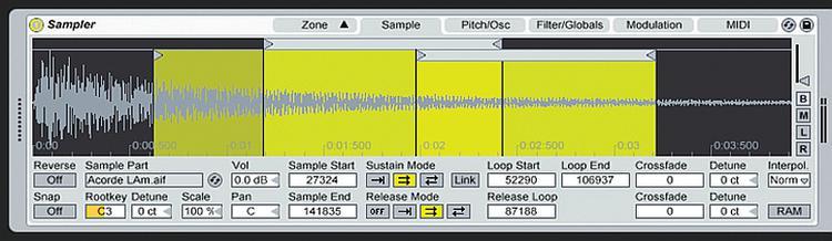 Ableton Sampler - Software Instrument for Live image 1