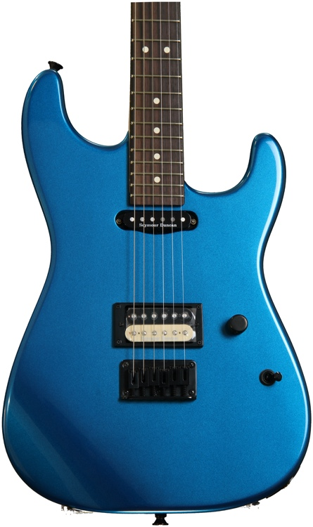 Charvel San Dimas Style 1HS Hard Tail - Candy Apple Blue image 1
