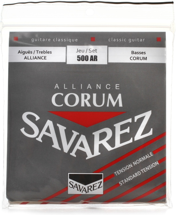 Savarez S.A. 500AR Alliance Corum Normal Tension Classical Guitar Strings image 1