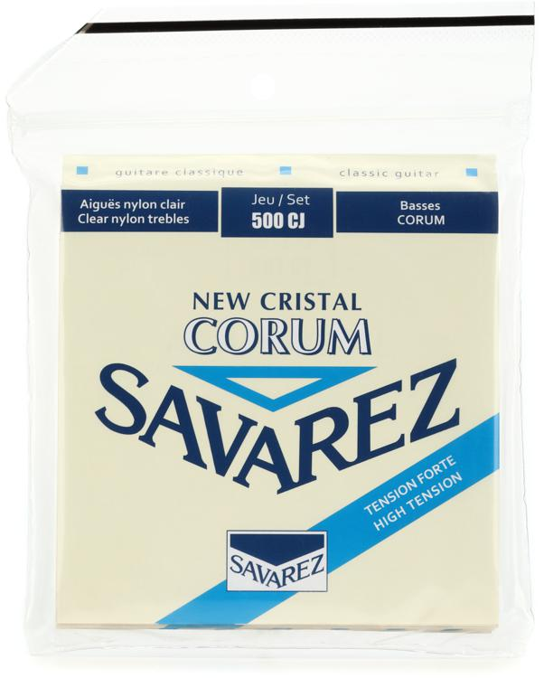 Savarez S.A. 500CJ New Cristal Corum High Tension Classical Guitar Strings image 1