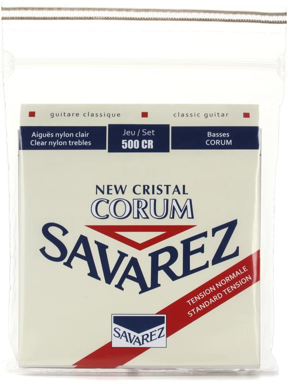 Savarez S.A. 500CR New Cristal Corum Normal Tension Classical Guitar Strings image 1