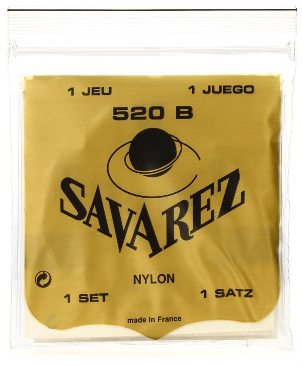 Savarez S.A. 520B Rectified Nylon Low Tension Classical Guitar Strings image 1