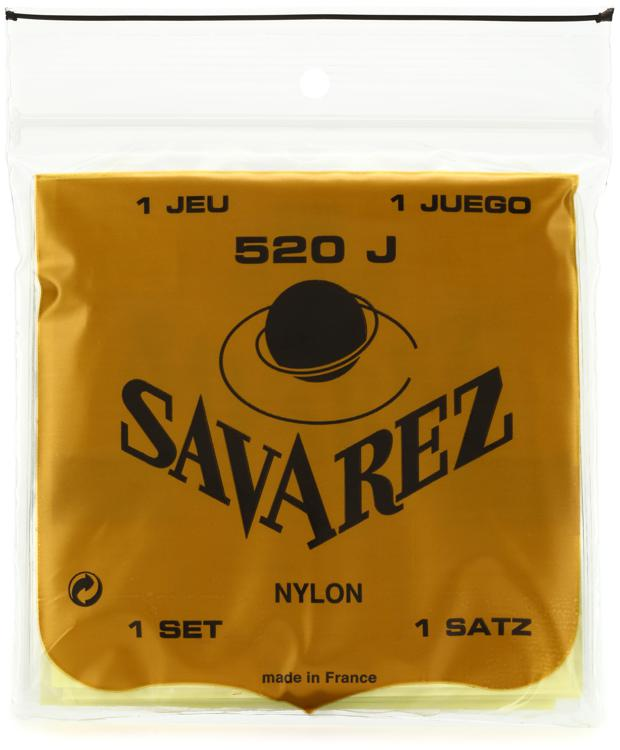 Savarez S.A. 520J Rectified Nylon Very High Tension Classical Guitar Strings image 1