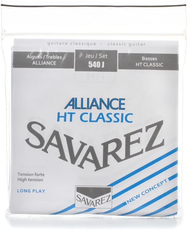 Savarez S.A. 540J Alliance HT Classic High Tension Classical Guitar Strings image 1