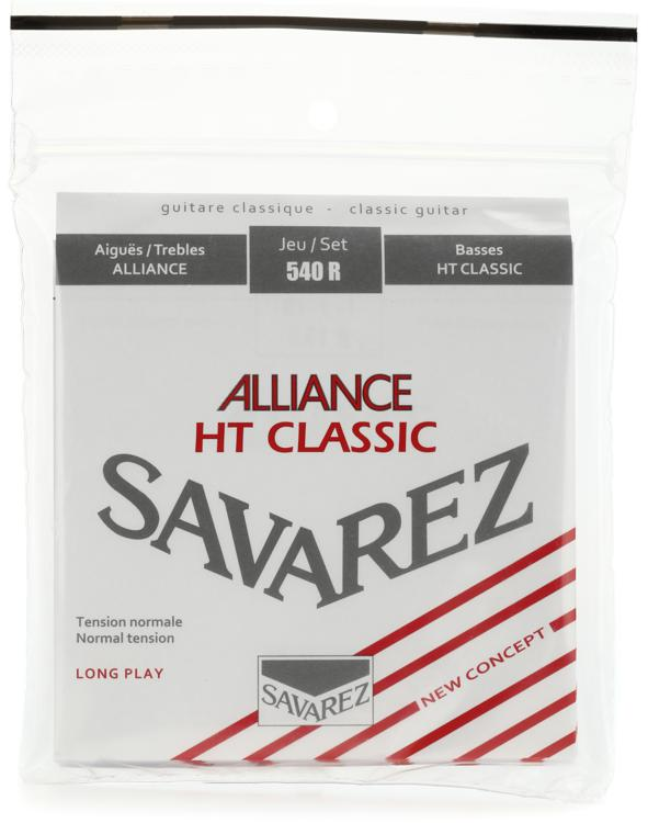 Savarez S.A. 540R Alliance HT Classic Normal Tension Classical Guitar Strings image 1