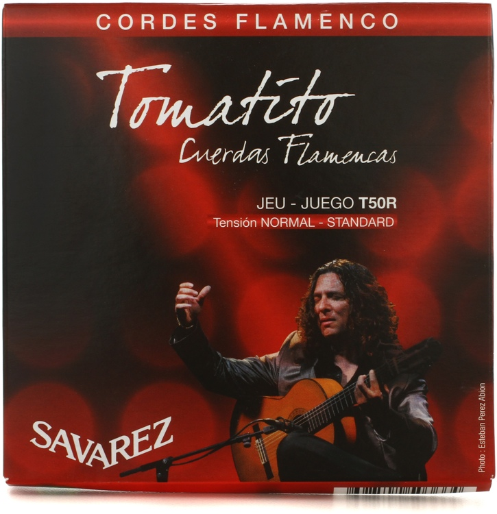 Savarez S.A. T50R Tomatito Normal Tension Flamenco Guitar Strings image 1