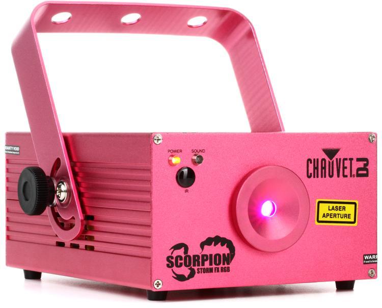 Chauvet DJ Scorpion Storm FX RGB Laser Effect image 1
