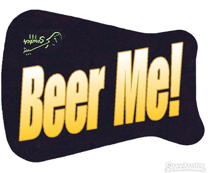 Scratch Pad Guitar Finish Protector - Beer Me image 1