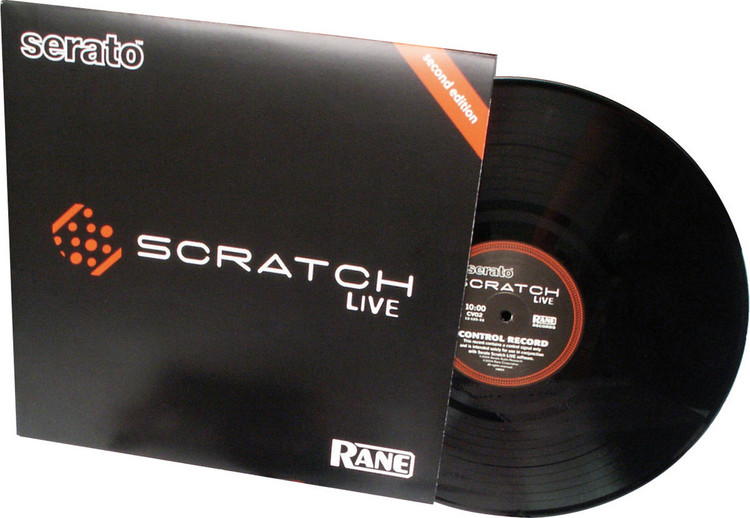 Rane Scratch Live Vinyl - Black image 1