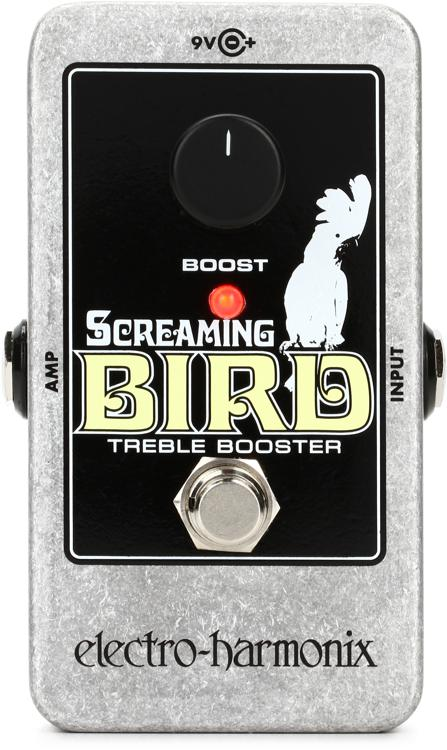 Electro-Harmonix Screaming Bird Treble Booster Pedal image 1