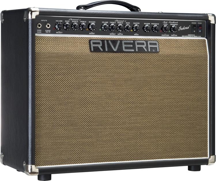 Rivera Sedona 55 ES - Black w/JBL Speaker image 1