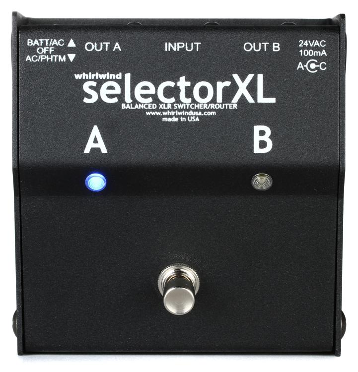 Whirlwind SelectorXL Active A/B Switcher image 1