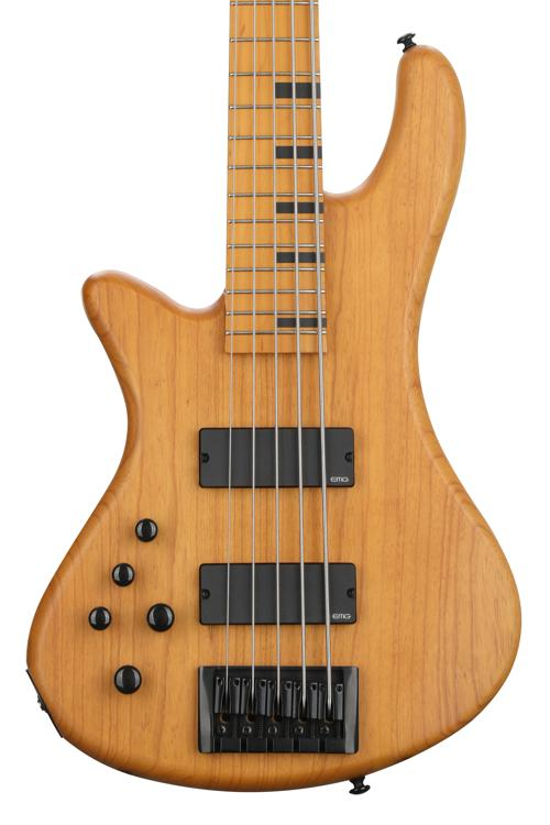 Schecter Stiletto Session Aged Natural Satin, Left Handed image 1