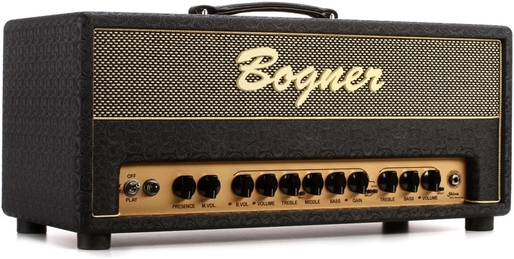 Bogner 20th Anniversary Shiva 90-watt Handwired Tube Head - No Reverb image 1
