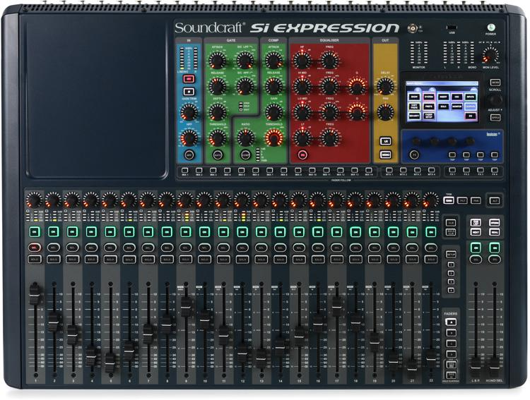 Soundcraft Si Expression 2 Digital Mixer image 1