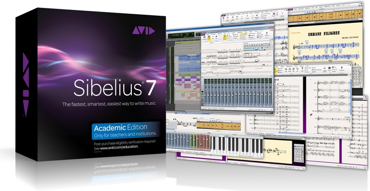 Avid Sibelius 7 for Educators & Academic Institutions image 1