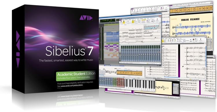 Avid Sibelius 7 for Students image 1