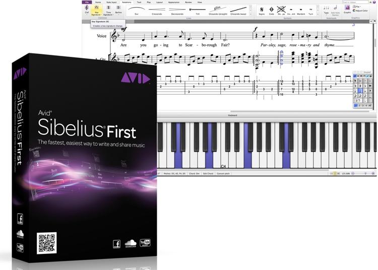 Avid Sibelius 7 First (download) image 1