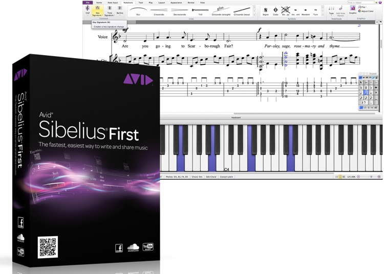 Avid Sibelius 7 First (boxed) image 1