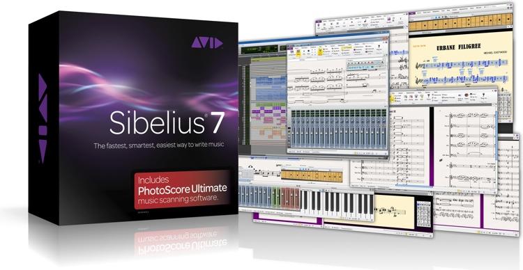Avid Sibelius 7 plus PhotoScore Ultimate image 1