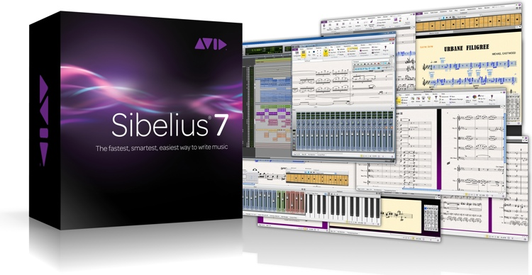 Avid Sibelius 7 Multi-User Site License Upgrade (per seat) - Stand-Alone Installation image 1