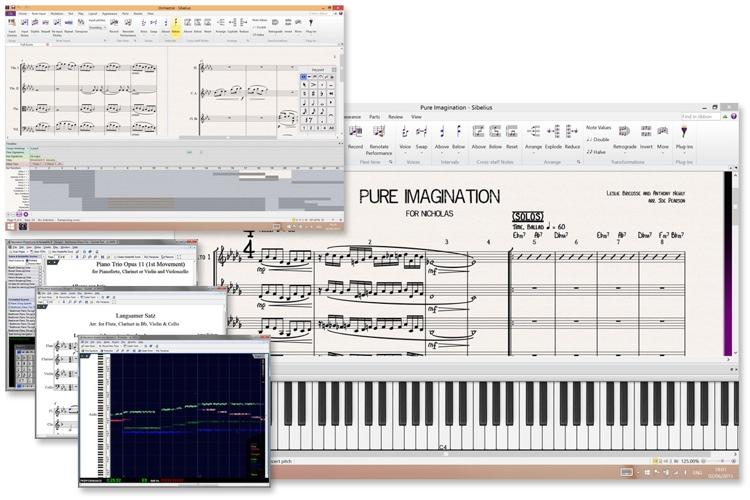 Avid Sibelius 8 Plus PhotoScore and AudioScore Bundle image 1