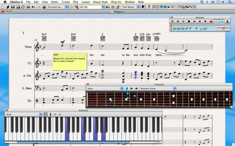 Avid Sibelius 6 image 1