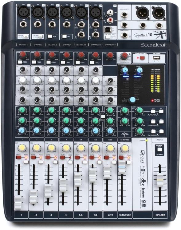 Soundcraft Signature 10 image 1