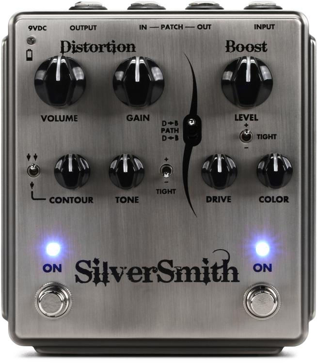 Egnater Silversmith Distortion and Boost image 1