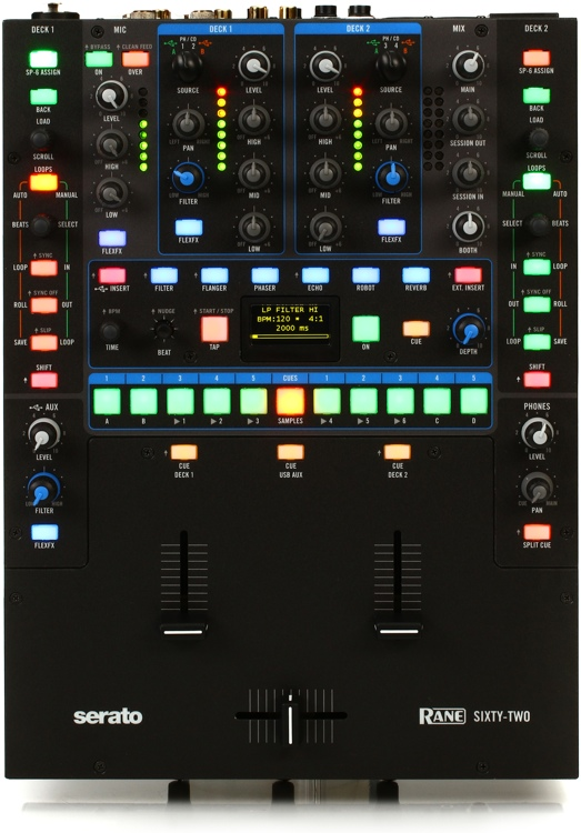 Rane Sixty-Two Mixer with Serato DJ image 1