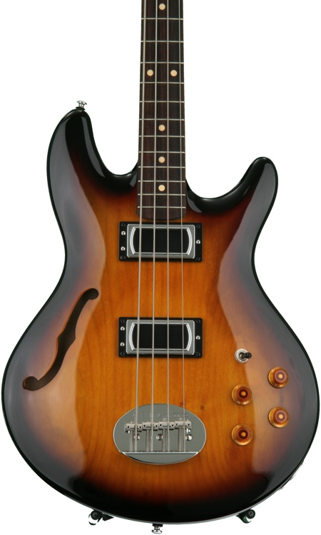 Lakland Skyline Hollowbody - Three Tone Sunburst image 1