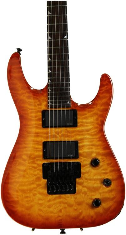 Jackson Soloist SLATXMGQ3-6 - Trans Amber Sunburst image 1