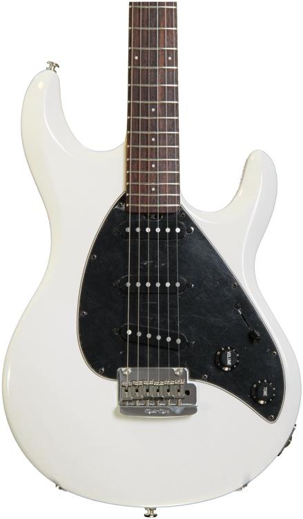 Ernie Ball Music Man Silhouette Special SSS Trem - White image 1