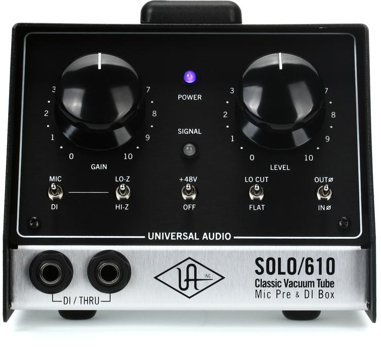 Ua Solo 610 : universal audio solo 610 sweetwater ~ Vivirlamusica.com Haus und Dekorationen