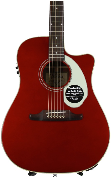 Fender Sonoran SCE - Candy Apple Red image 1